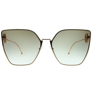 806b7ee982ec8 Fendi NEW Fendi FF0323 S F is Fendi Oversized Square Cat Eye Sunglasses