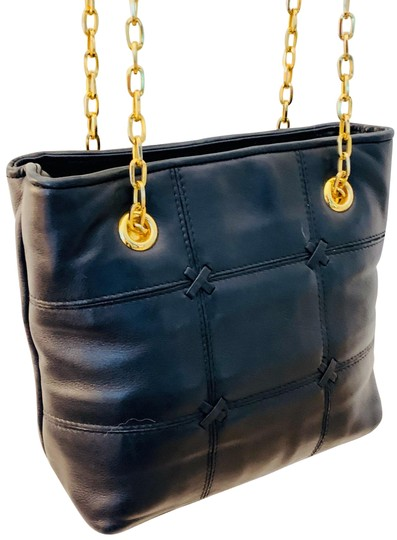 Lord & Taylor Tote in Black Image 0
