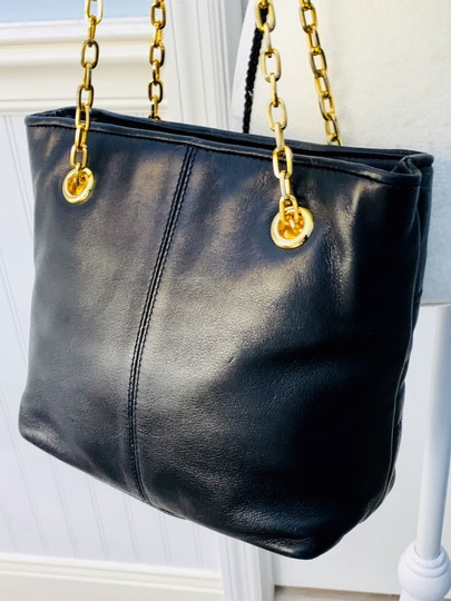 Lord & Taylor Tote in Black Image 1