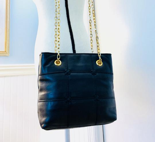Lord & Taylor Tote in Black Image 7