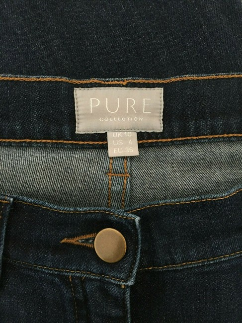 Pure Collection Straight Leg Jeans Image 3