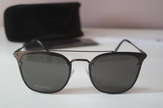 Tom Ford NEW Tom Ford TF546K Polarized Double Bridge Metal Sunglasses Image 6