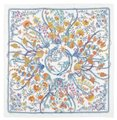 Gucci New Gucci Large White Floral Silk Foulard Scarf 303156 9069 Image 0