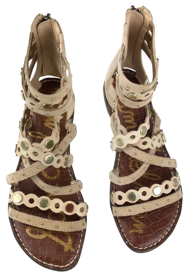 640c31d513f3 Sam Edelman Brown Strappy Sandals Flats Size US 6 Regular (M