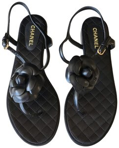 ade35f727 Chanel Sandals on Sale - Up to 70% off at Tradesy