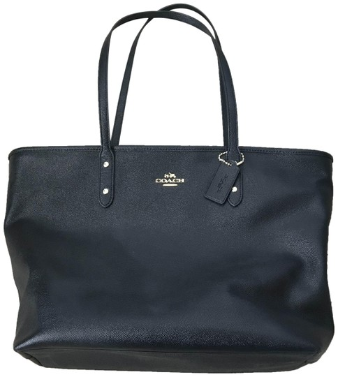 Coach City Tote in Black Image 0