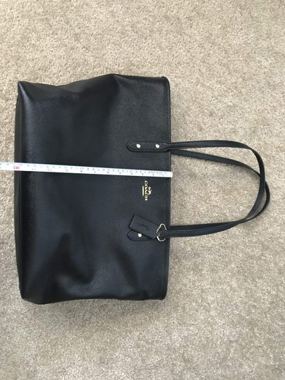 Coach City Tote in Black Image 6