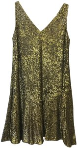 Lauren Ralph Lauren Sequin V-neckline Size 8 M Medium New With Tags Dress