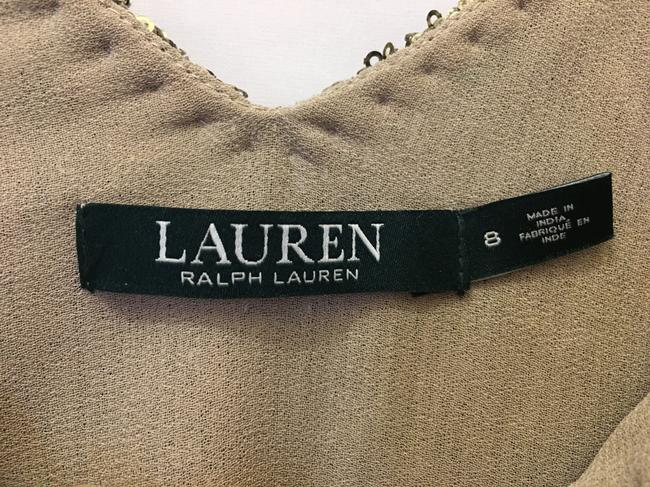 Lauren Ralph Lauren Sequin V-neckline Size 8 M Medium New With Tags Dress Image 2