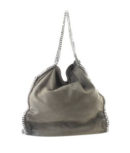 Stella McCartney Faux Leather Tote in Brown