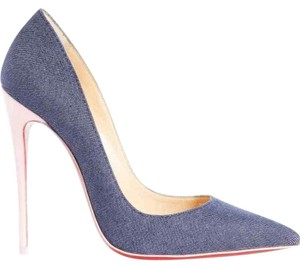 Christian Louboutin Sokate Kate Pigalle Stiletto Classic blue Pumps