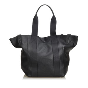 Alexander Wang 9cawto001 Vintage Leather Tote in Black