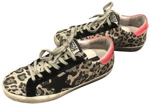 Golden Goose Deluxe Brand Black and Grey Athletic