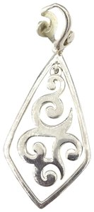 silpada S1387 Retired Silpada Scroll Silver Pendant