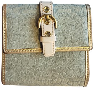 Coach Signature Cloth Wallet