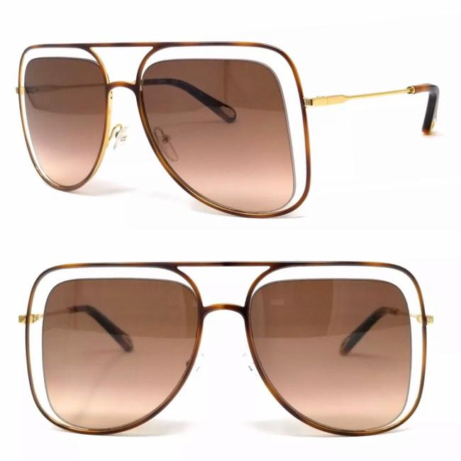 Item - Rose Honey Havana Navigator Ce130s Sunglasses