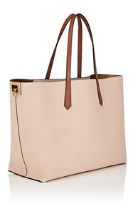 Givenchy Shopper Shoulder Tote in Pale Pink / Tan