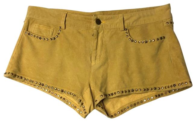 Item - Mustard Suede Shorts Size 8 (M, 29, 30)