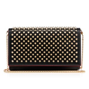Christian Louboutin Spiked Spike Paloma Paloma Shoulder Bag