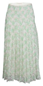 Christopher Kane Polyester Silk Skirt Green
