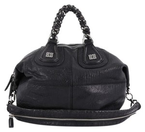 Givenchy Leather Large Satchel in black