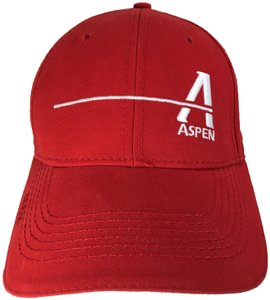 Other Aspen Golf Construction Company Red White Baseball Hat Cap Adjustable