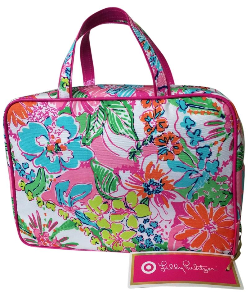 Lilly Pulitzer Cosmetic Case Nosey Posey Travel Bag