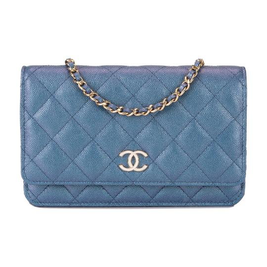 Preload https://img-static.tradesy.com/item/25289811/chanel-wallet-on-chain-iridescent-classic-quilted-caviar-woc-blue-leather-cross-body-bag-0-0-540-540.jpg