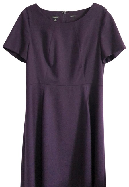Preload https://img-static.tradesy.com/item/25289930/talbots-purple-eggplant-inverted-pleat-mid-length-workoffice-dress-size-14-l-0-2-650-650.jpg