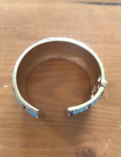 Lilly Pulitzer Lilly Pulitzer cuff gold jeweled bracelet Image 1
