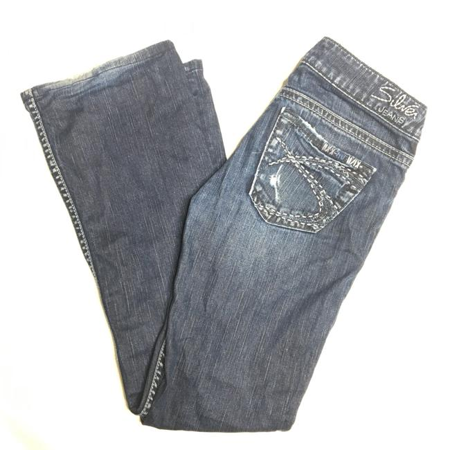 Item - Blue Distressed Tuesday 26/31 Boot Cut Jeans Size 2 (XS, 26)