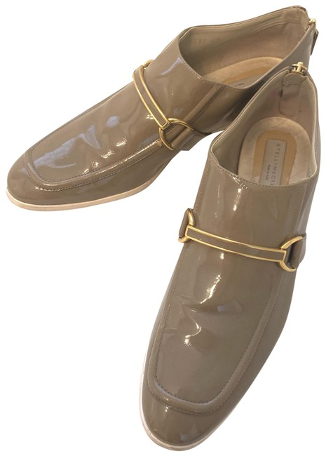 Item - Tan Patent Faux Leather Loafers Flats Size EU 40 (Approx. US 10) Regular (M, B)
