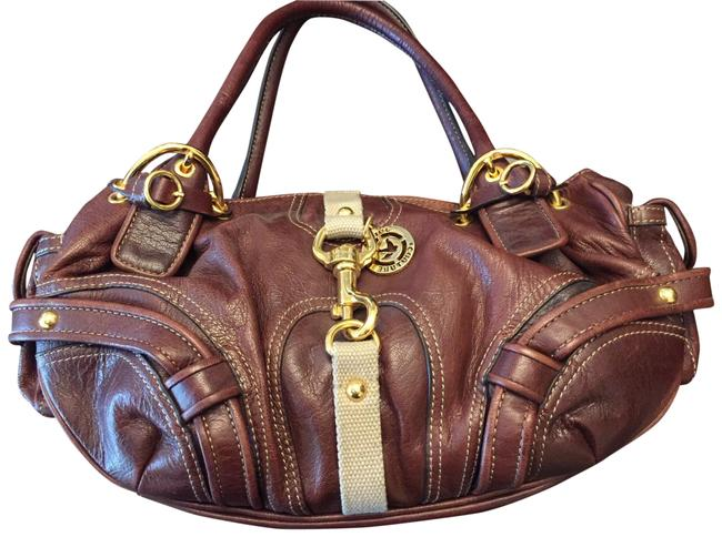 Item - Limited Edition Handbag Brown Goat Skin Leather Satchel