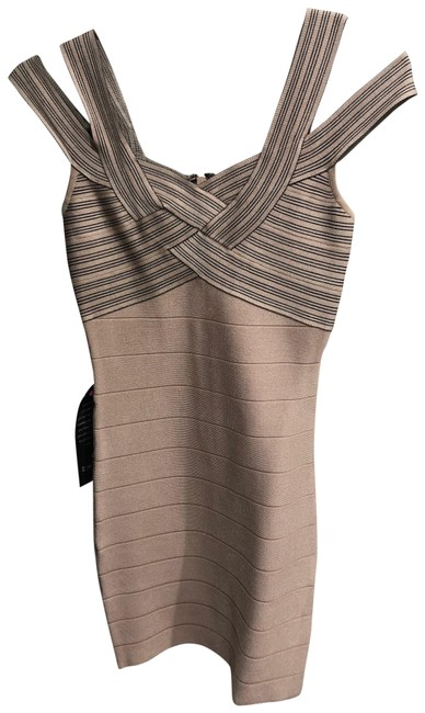 Item - Nude S0dbt1019500 Short Night Out Dress Size 4 (S)