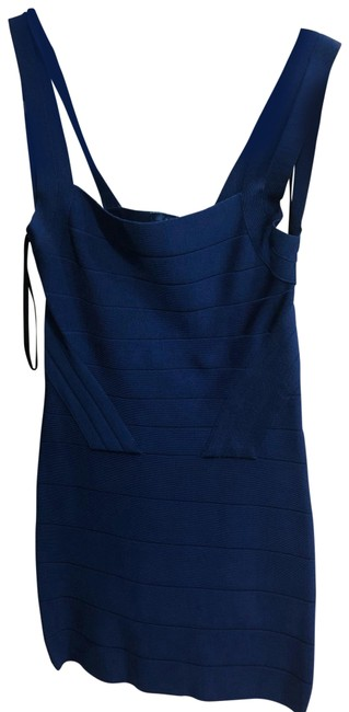 Item - Blue Short Night Out Dress Size 4 (S)