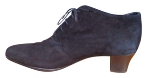 Munro American Suede Chunky Black Boots