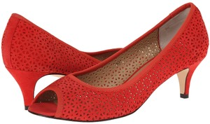 Vaneli Red Pumps