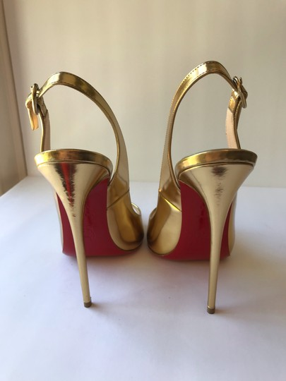 Christian Louboutin gold Pumps Image 1
