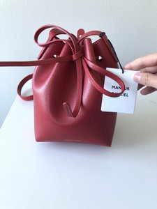 Mansur Gavriel Leather Bucket Cross Body Bag
