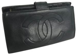 Chanel Chanel leather CC Logo wallet