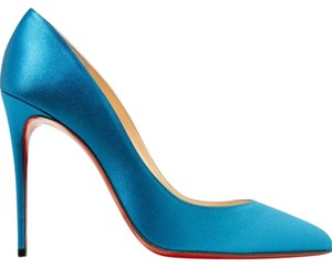 Christian Louboutin Pigalle Follies Stiletto Suede Classic blue Pumps