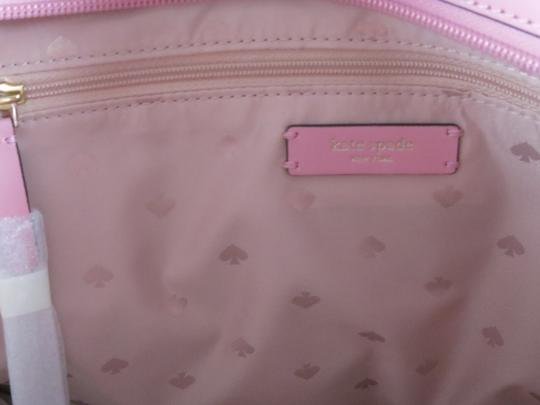 Kate Spade Leather New With Tags Tote in Bright Carnation Pink Image 6