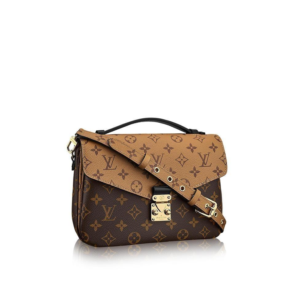 1d92e3843826 Louis Vuitton Pochette Metis Made In Italy Monogram Reverse Canvas ...