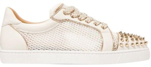 Christian Louboutin Flat Spike Sneaker Trainer Vieira white Athletic