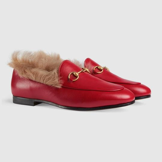Gucci Loafer Mule Slide Marmont red Flats Image 2