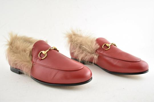 Gucci Loafer Mule Slide Marmont red Flats Image 3