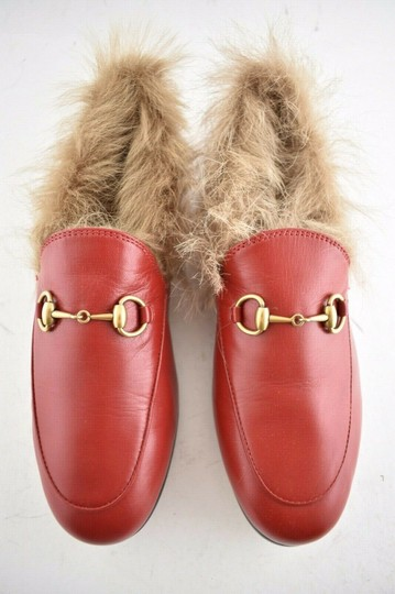 Gucci Loafer Mule Slide Marmont red Flats Image 6