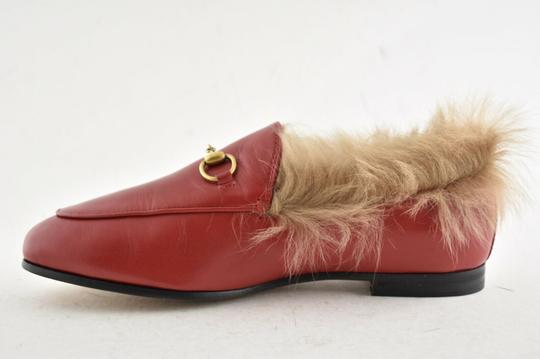 Gucci Loafer Mule Slide Marmont red Flats Image 7