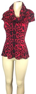 INC International Concepts Top red/black