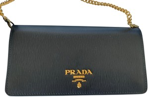 Prada Chain Clutch Cross Body Bag
